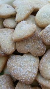 Lavender Shortbread Hearts