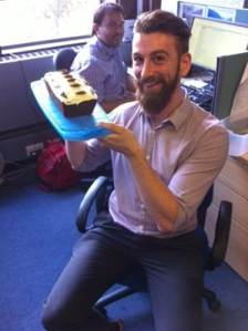 peter and the cake!