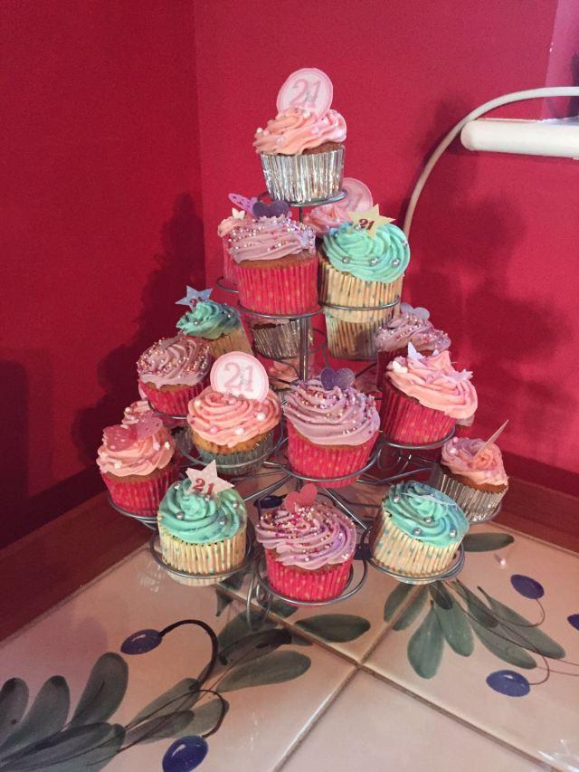 beth's birthday cupcakes 2